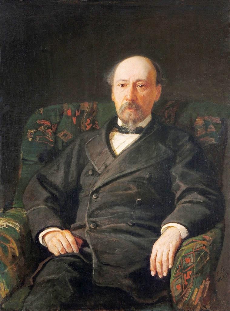 Портрет Н.А.Некрасова