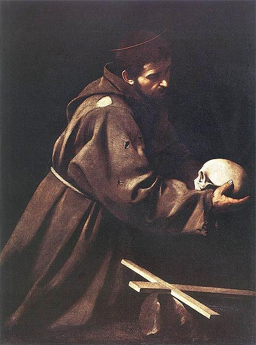 Караваджо. Св.Франциск