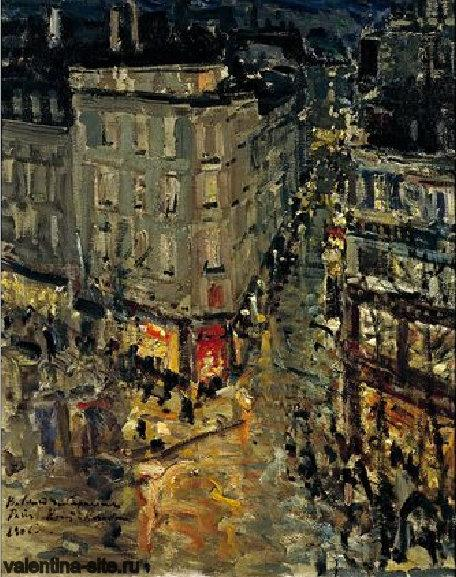 Константин Коровин. Париж. Бульвар капуцинок.1906