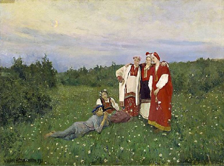 Константин Коровин. Северная идиллия. 1892