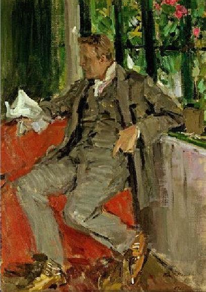 Константин Коровин. Портрет Ф.И.Шаляпина. 1905