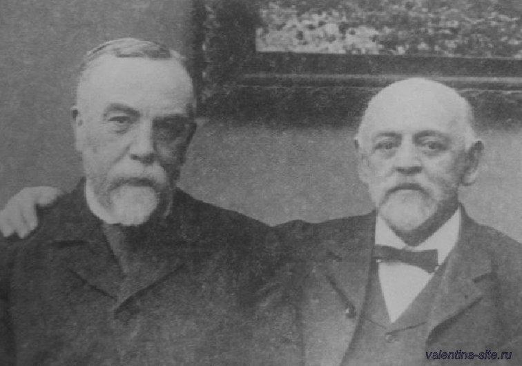 Василий Дмитриевич Поленов и Савва Иванович Мамонтов. 1902
