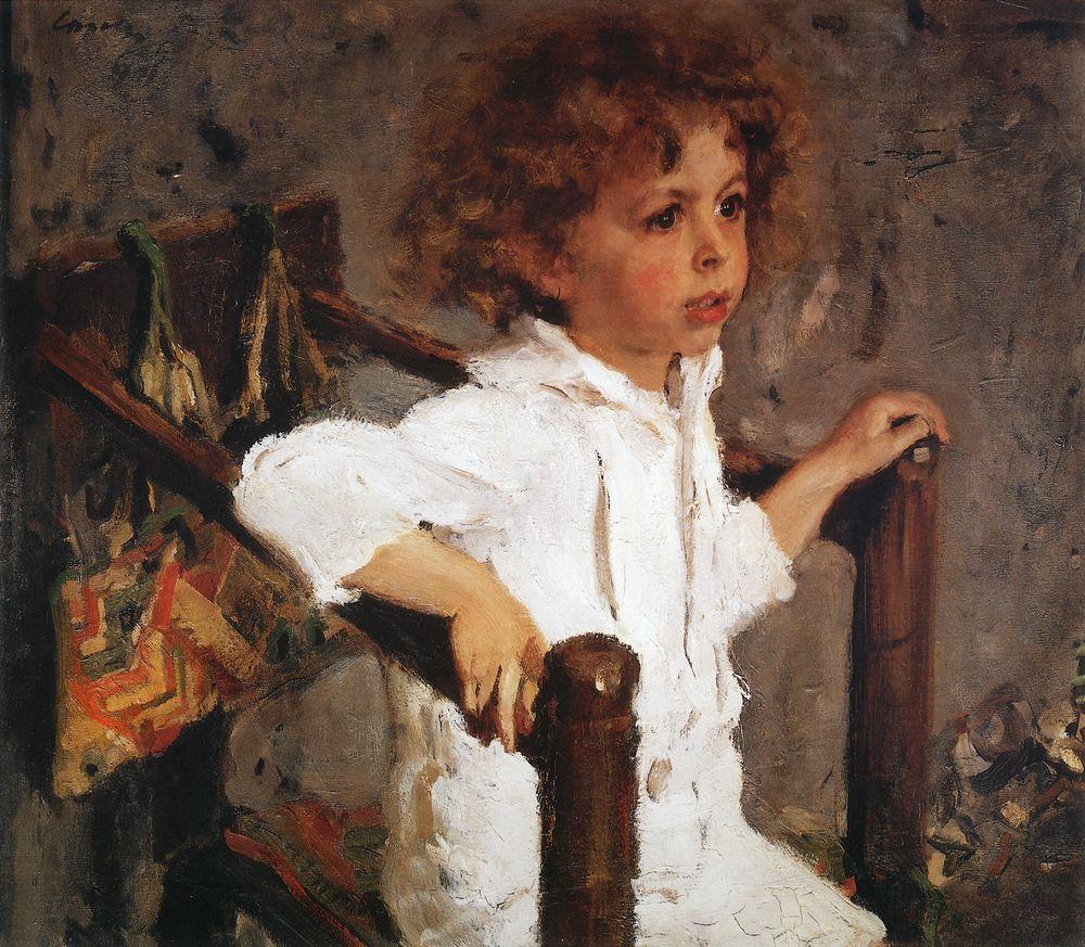 Валентин Серов. Мика Морозов. 1901
