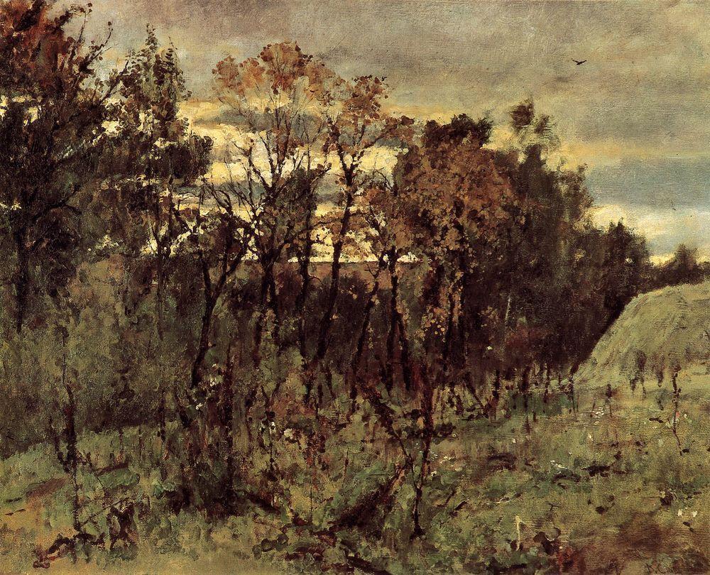 Валентин Серов. Осенний вечер. Домотканово. 1886