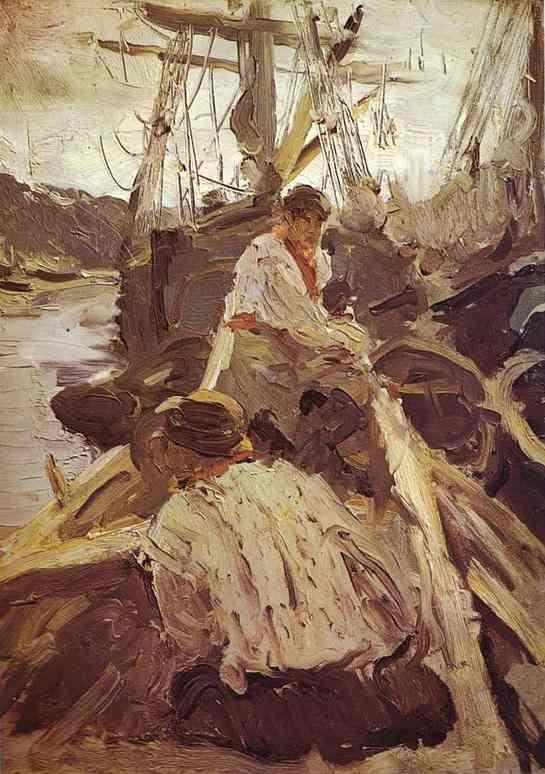 Валентин Серов. Поморы. 1894