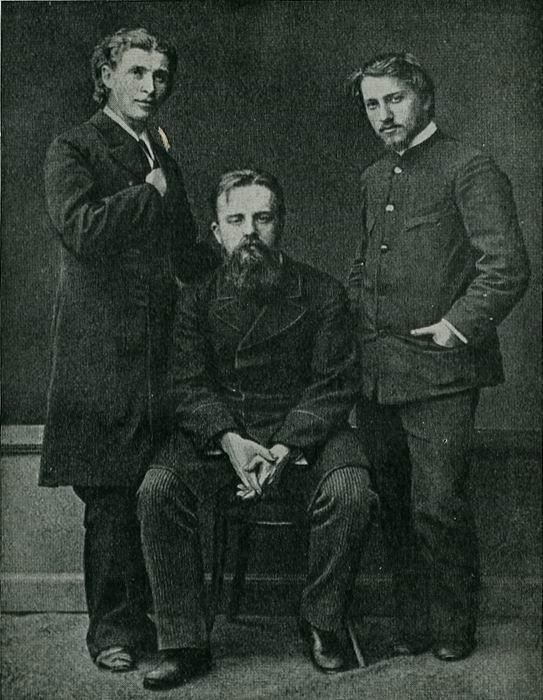 М.А.Врубуль, В.Д.Дервиз, В.А.Серов 1883-1884 годы