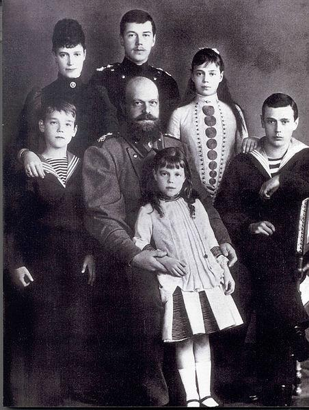 Семья Императора Александра_III. 1888