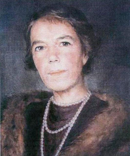 Великая княгиня Ольга Александровна. Автопортрет