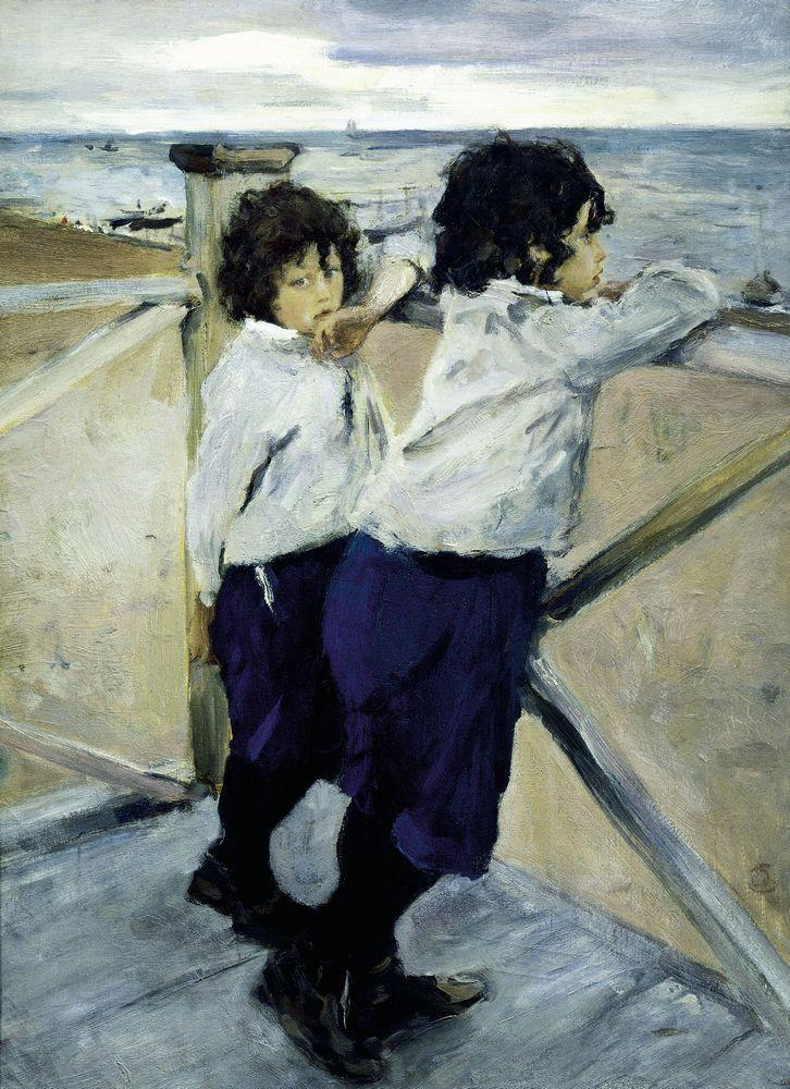 Валентин Серов. Дети (Саша и Юра Серовы). 1899
