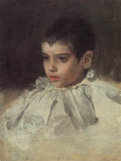 Валентин Серов. Портрет Ляли (Аделаиды Яковлевны) Симонович, 1880