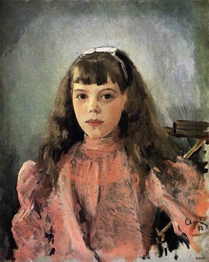 Валентин Серов. Портрет Великой княжны Ольги Александровны, 1893