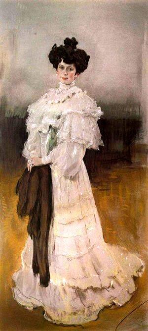 Валентин Серов. Портрет Е.А.Красильщиковой 1906