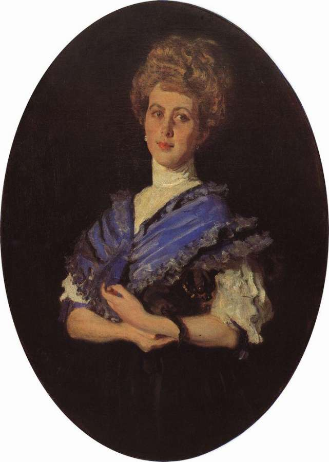 Валентин Серов. Портрет Е.С.Карзинкиной. 1906