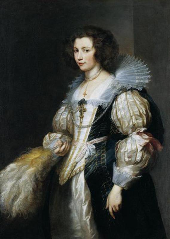 Ван Дейк. Портрет Марии де Тассис.