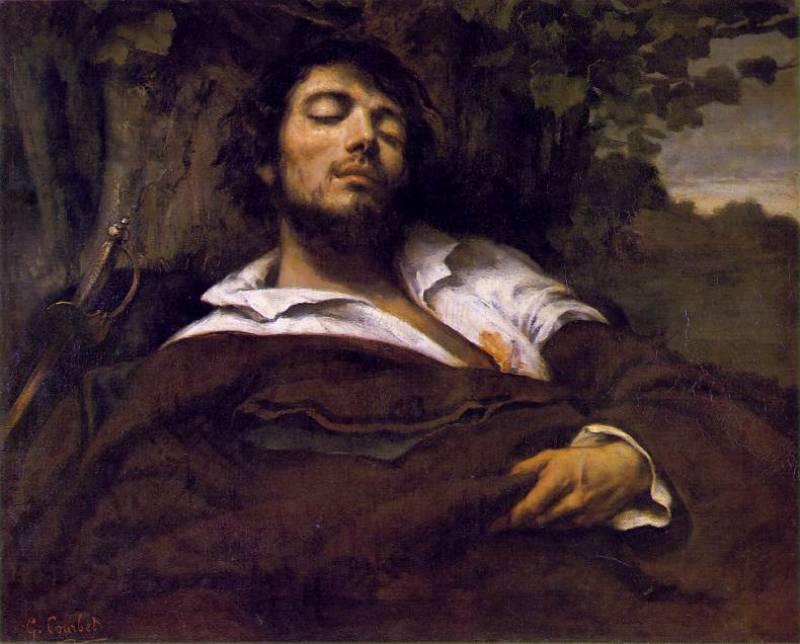 Гюстав Курбе. Раненый. 1844-1854