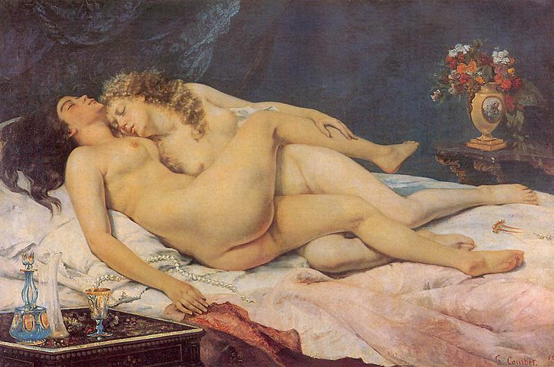 Гюстав Курбе. Спящие. 1866