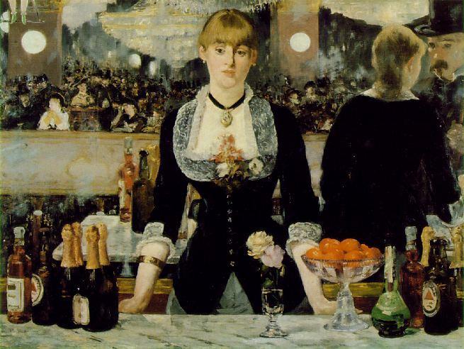 Эдуард Мане. Бар в Фоли-Берже. 1882