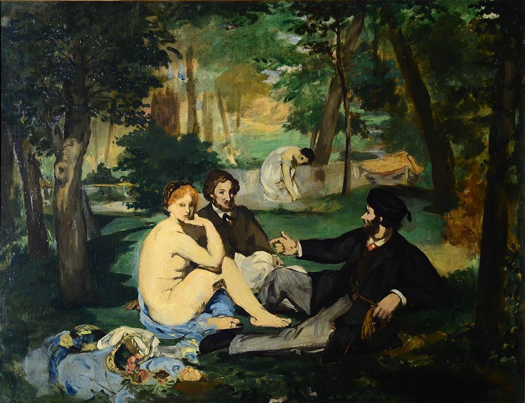 Эдуард Мане. Завтрак на траве. 1863