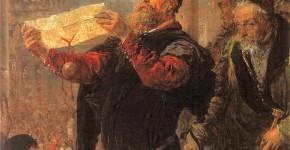 Ян Матейко. Приговор Матейке. 1867