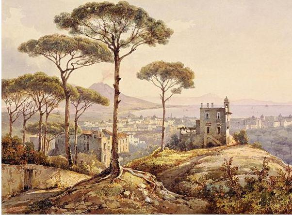 Джачинто Джиганте. Неаполь со стороны Коноккьи