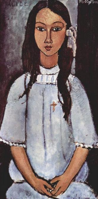 Амедео Модильяни. Алиса. 1915