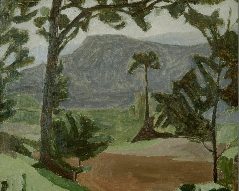 Джорджо Моранди. Пейзаж.1935-36
