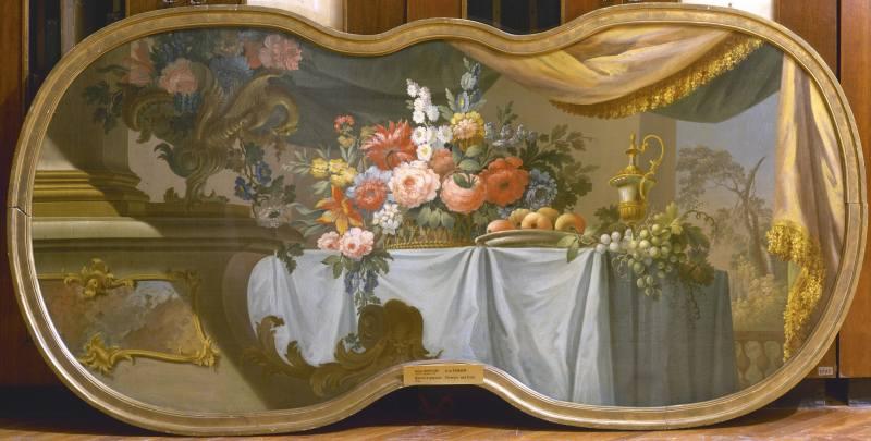 Иван Фирсов. Цветы и фрукты. 1754