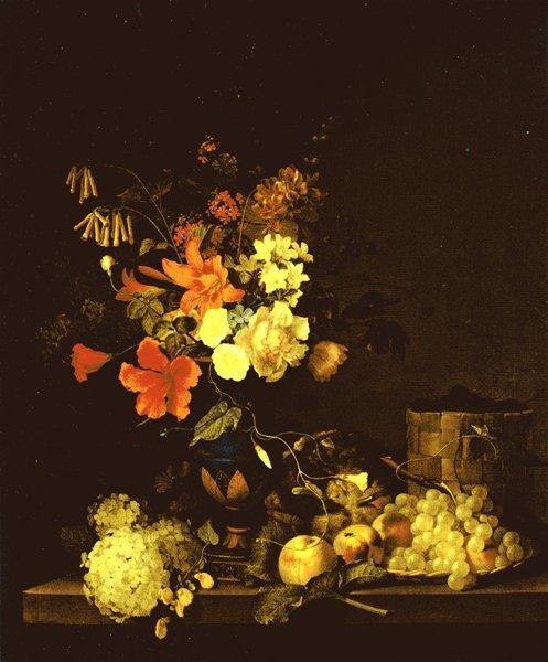 Торопов Ф.Г. Цветы и плоды. 1846