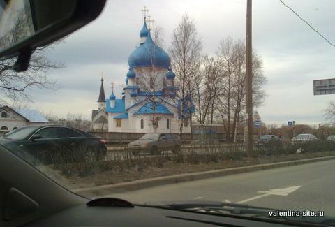 Подъезжаем к Санкт-Петербургу