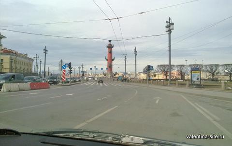 Санкт-Петербург, Ростральная колонна
