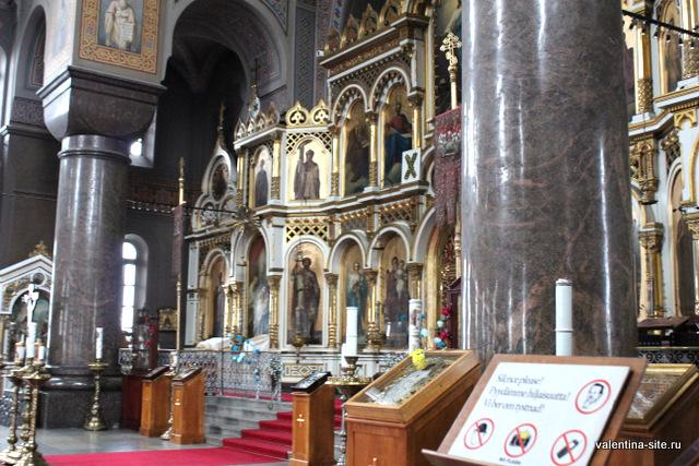 Убранство Успенского собора