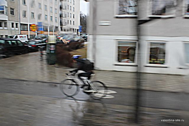 Стокгольм. В любую погоду на велосипеде