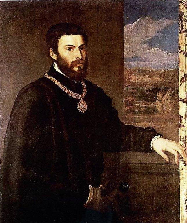 Портрет Антонио Порчиа (1535-1540). Пинакотека Брера