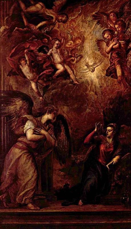 Благовещенье (1459-1564). Церковь Сан-Сальвадор, Венеция