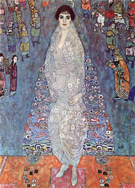 Густав Климт. Баронесса Елизабет Бахофен 1914