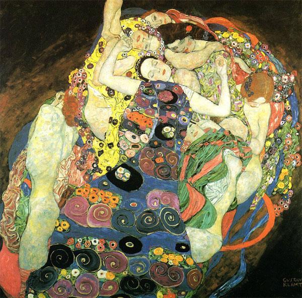 Густав Климт. Девушки 1913