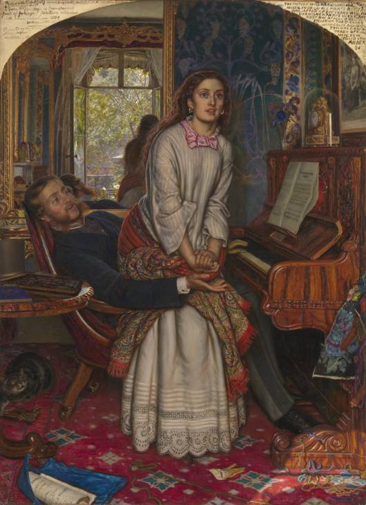 Уильям Холман Хант. Пробудившийся стыд. 1853