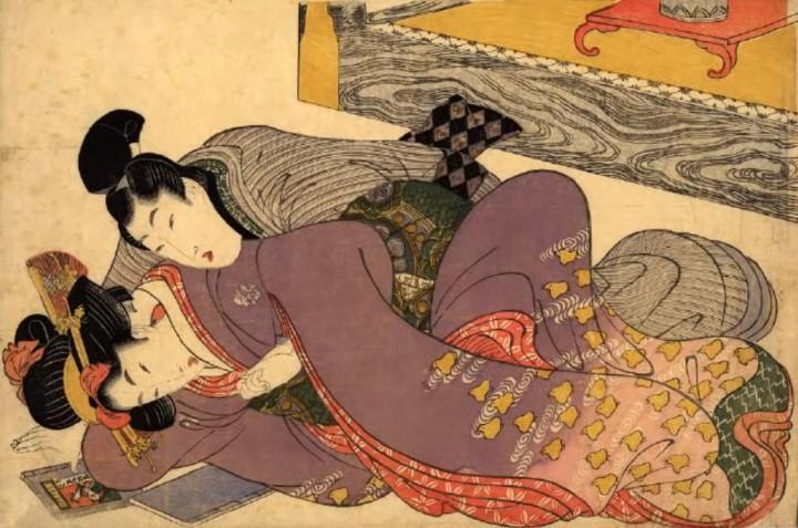Японские стихи эротические