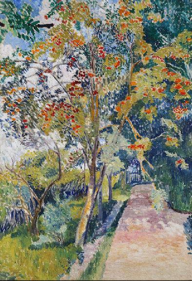Рябина. Панино близ Вязьмы. 1907-1908