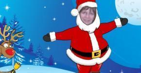 Новый год, Дед Мороз танцует