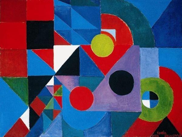 Соня Делоне. Ритм красок. 1954