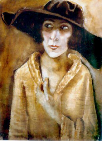 Портрет Марты Кук, впоследствии жены Отто Дикса