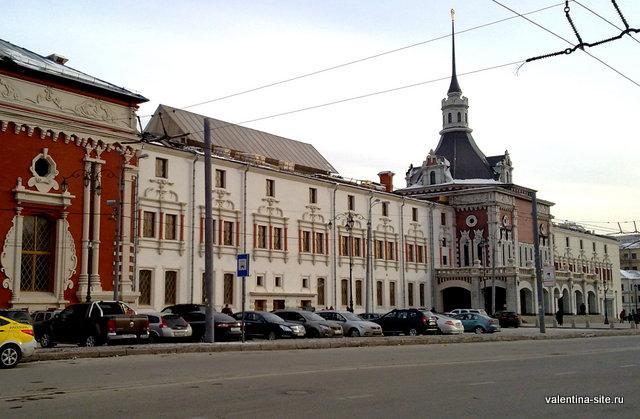 Царская башня на Казанском вокзале