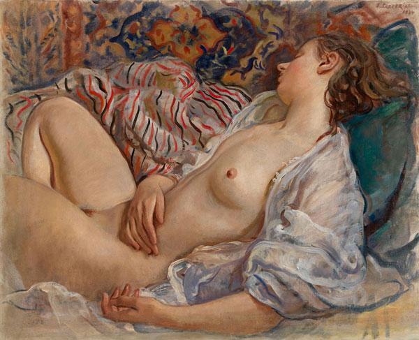 Спящая обнаженная (Катя). 1933