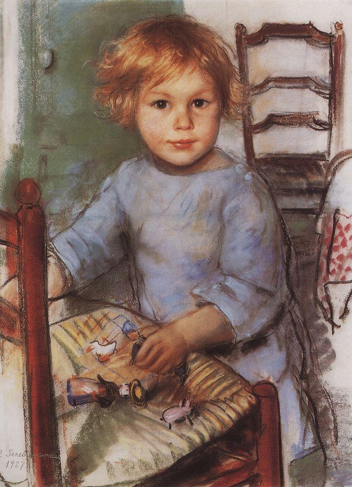Портрет сына Сергея Прокофьева Святослава. 1927
