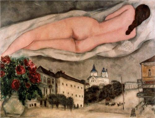 Обнаженная над Витебском. 1933