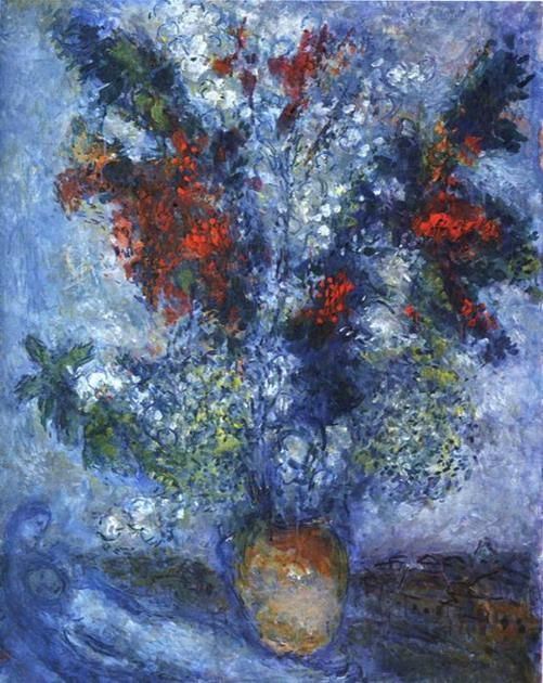 Букет цветов. 1982