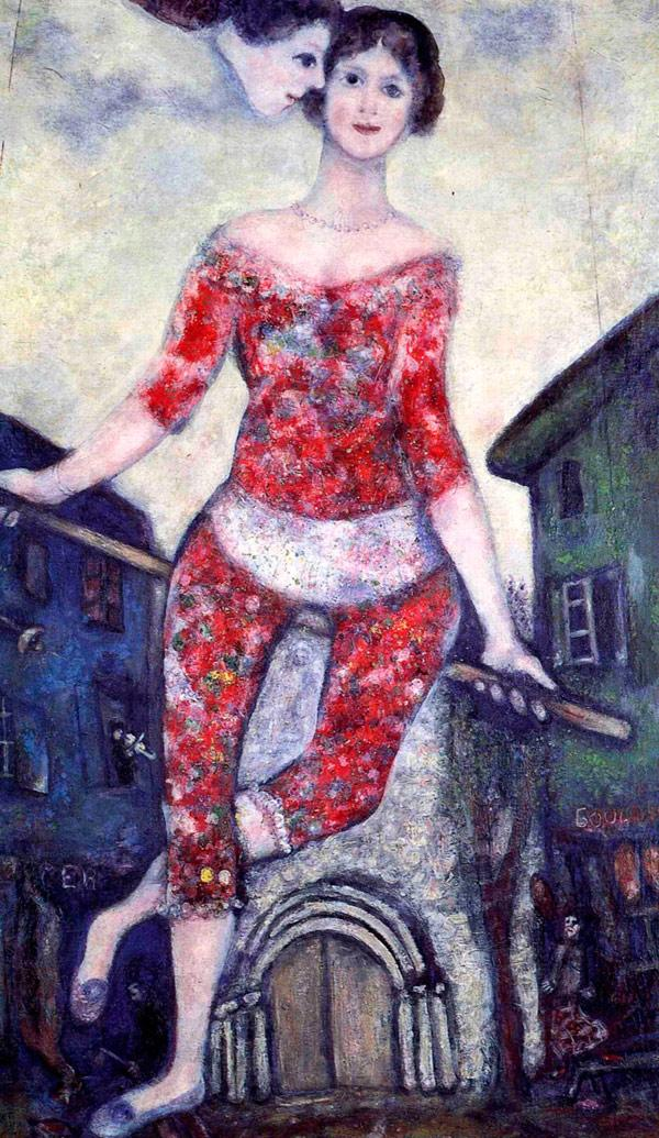 Акробатка. 1930