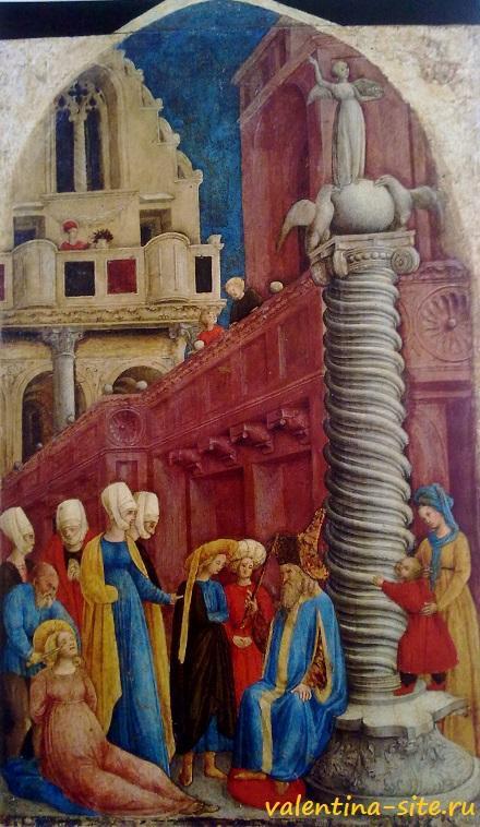 Джованни дАлеманья. Муничество Святой Аполлонии (ослепление). Около 1440-1445