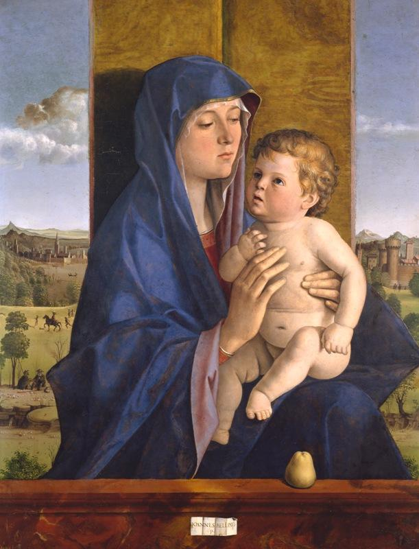 Джованни Беллини. Мадонна с Младенцем. Около 1488 года